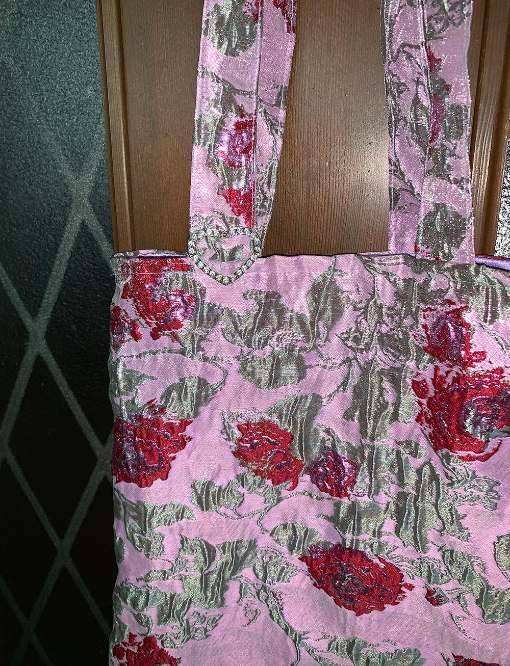 rose charm bag