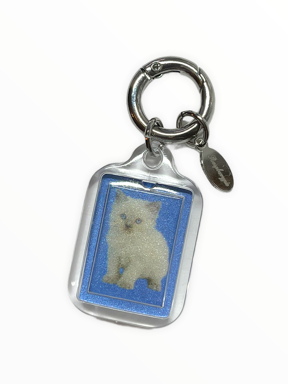 (rsp made) kitty & Yorkie key ring
