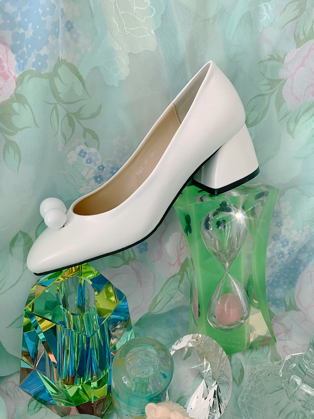 marble pumps