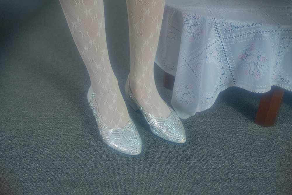 (5次再入荷)LACE TULLE STOCKING