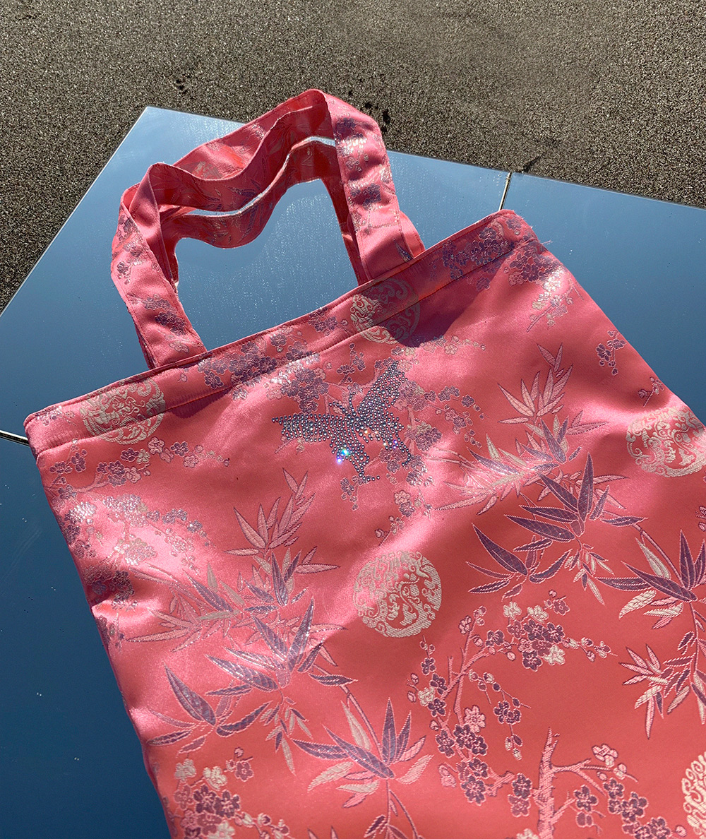 CRYSTAL BUTTERFLY BAG
