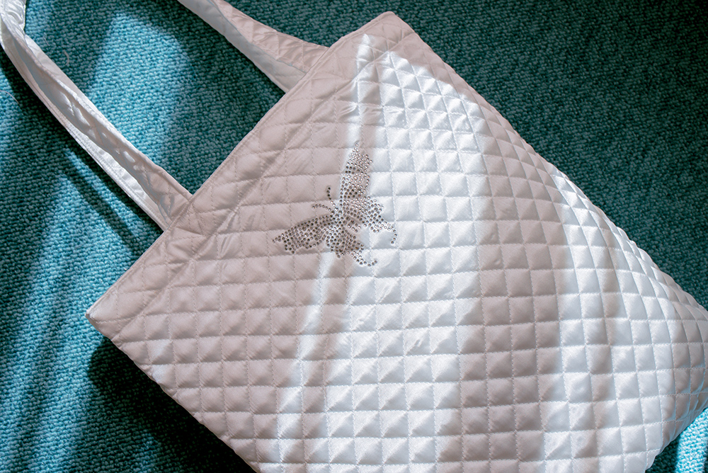 BUTTERFLY QUILTING BAG