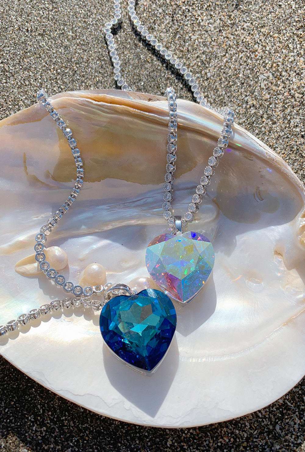 (2COLOR) MY HEART NECKLACE