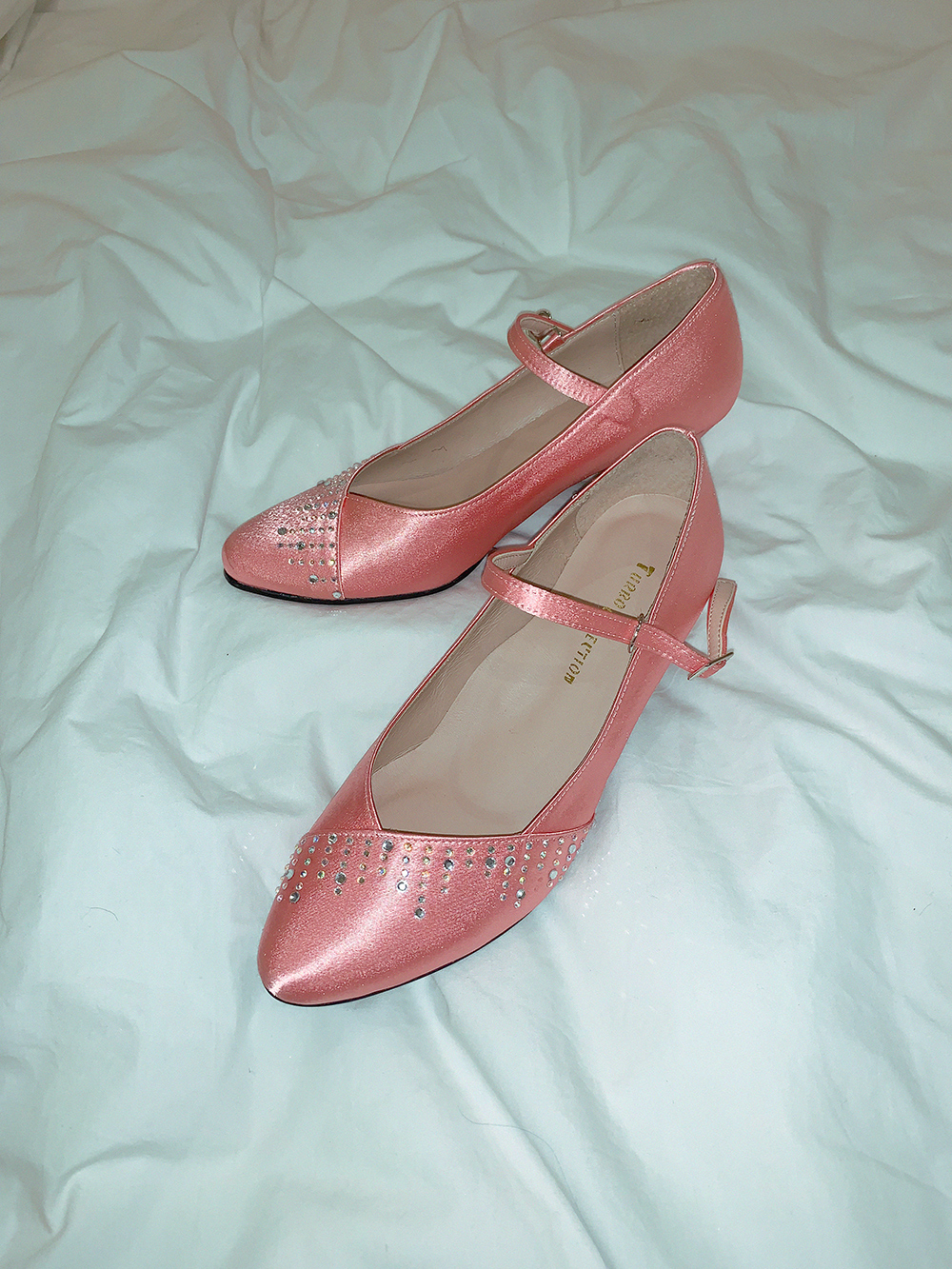 (sale30%)PINK AURORA MARY JANE SHOES (order made)