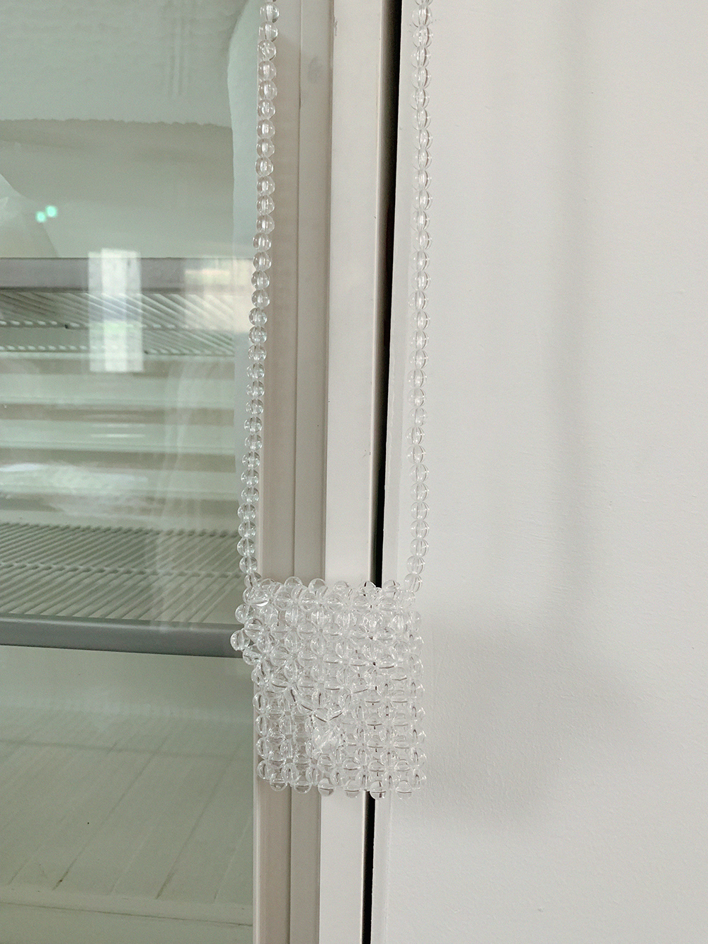 CLEAR MARBLE BAG