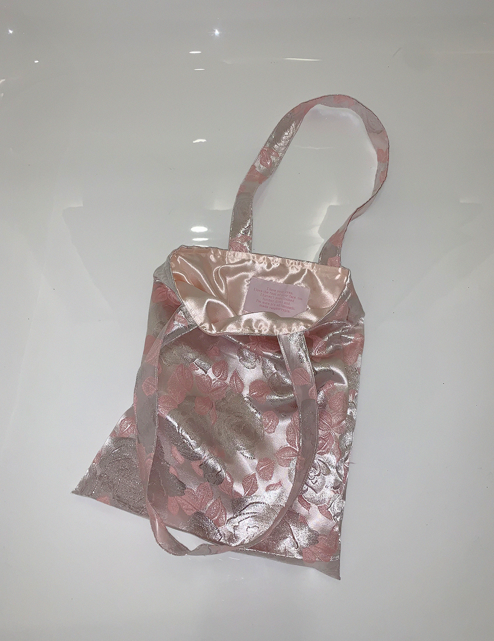 METAL ROSE BAG