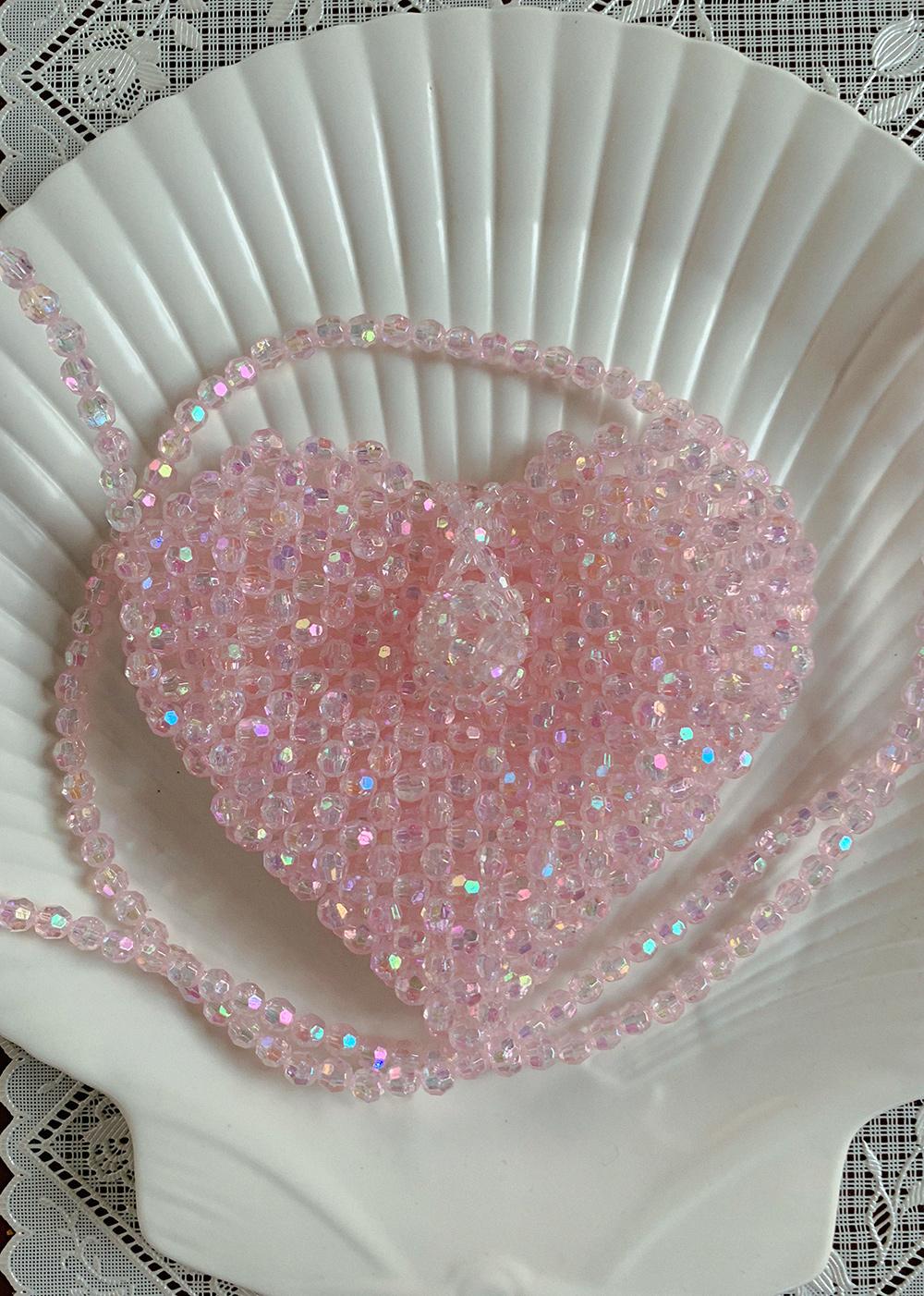 HEART MARBLE BAG