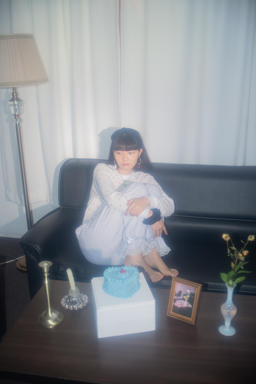 (gray) ribbon lace lounge pants