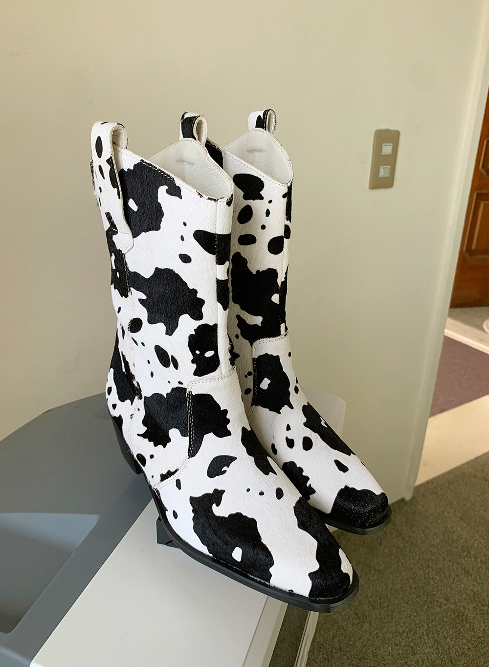 cow western boots