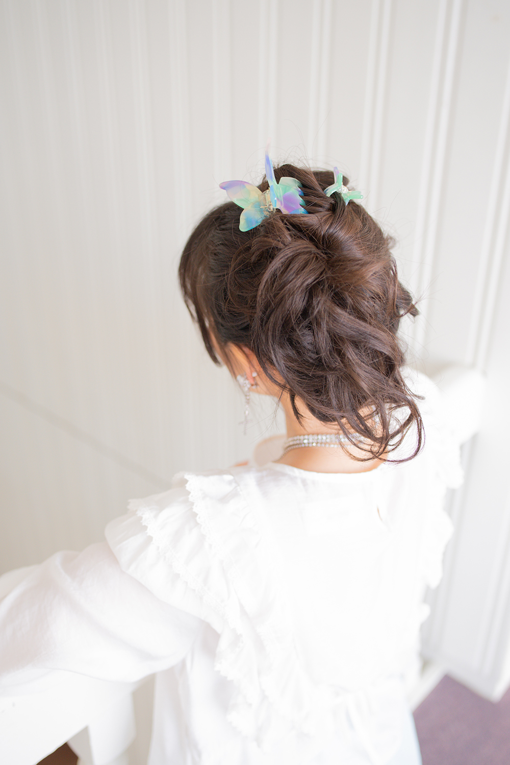 (2type) butterfly clip