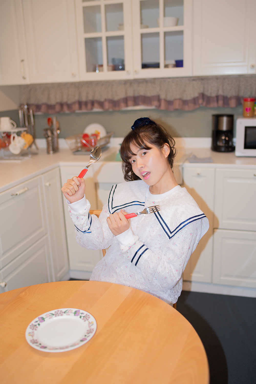 aurora lace sailor blouse