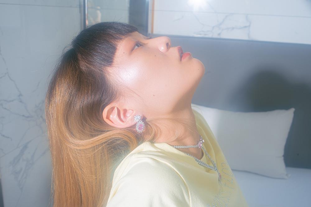 (2COLOR) COLOR STONE EARRING & PIERCE