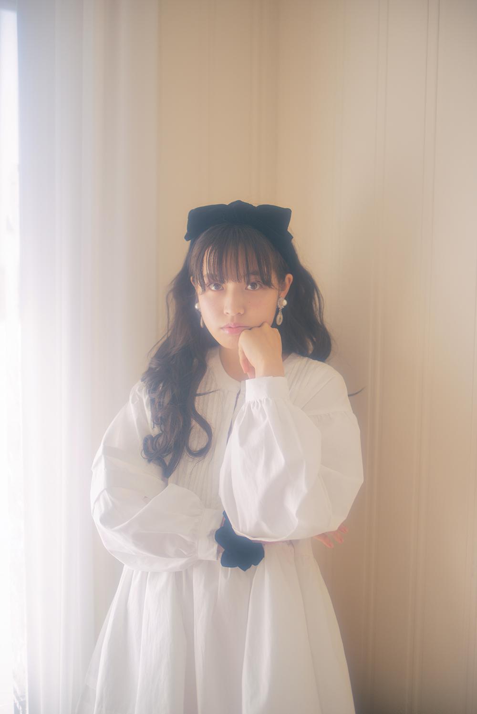 (navy) velvet ribbon twinkle hairband