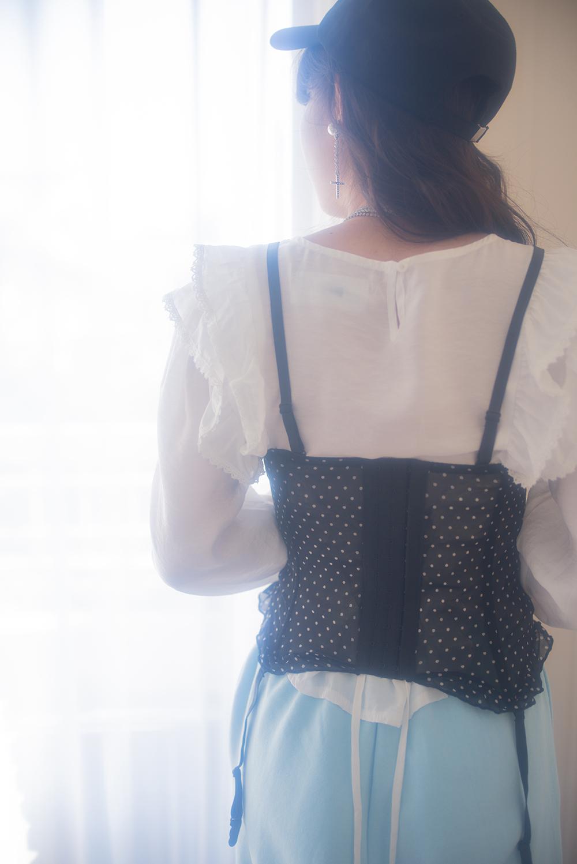 dot corset