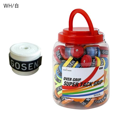 ゴーセン スーパータックグリップテープ 60本入り(OG106BX)バドミントン ソフトテニス 軟式テニス オーバーグリップ OG-106 GOSEN