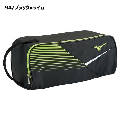 ミズノ シューズケース(33JM0422)付属に用いたホログラムがアクセントに ミズノ シューズ袋 硬式テニス 軟式テニス ソフトテニス テニス MIZUNO