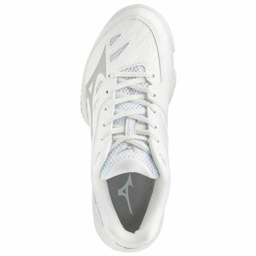 ミズノ バドミントンシューズ ウェーブクロー レディース(71GA191603)2E相当の方向け 室内 体育館 靴 軽量 速さでゲームを支配 軽量性と加速性のスピードモデル。ウィメンズタイプ バドミントンシューズ ミズノ バトミントン シューズ MIZUNO