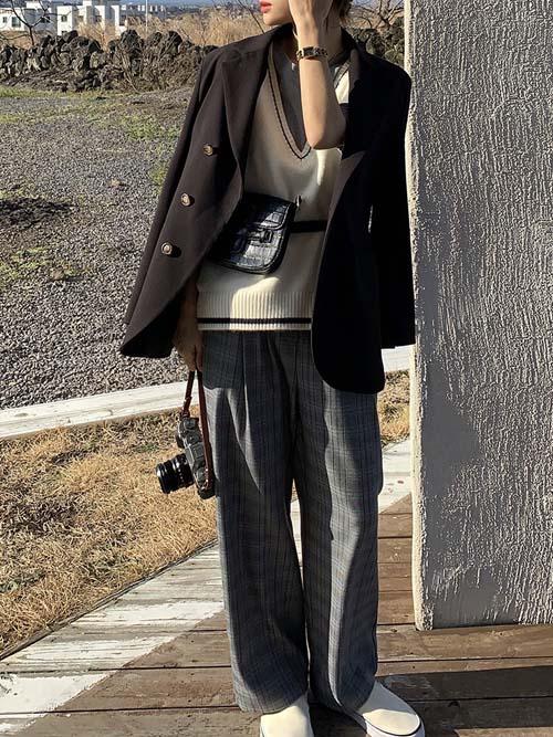 【3月新作】アシメコンフォートジャケット