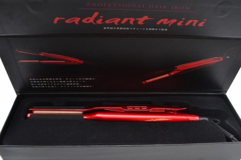 シルクプロアイロン radiant mini 9mmプレート