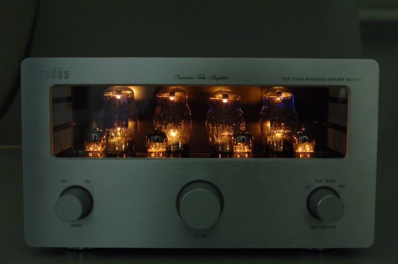 RA-VT11 真空管アンプ
