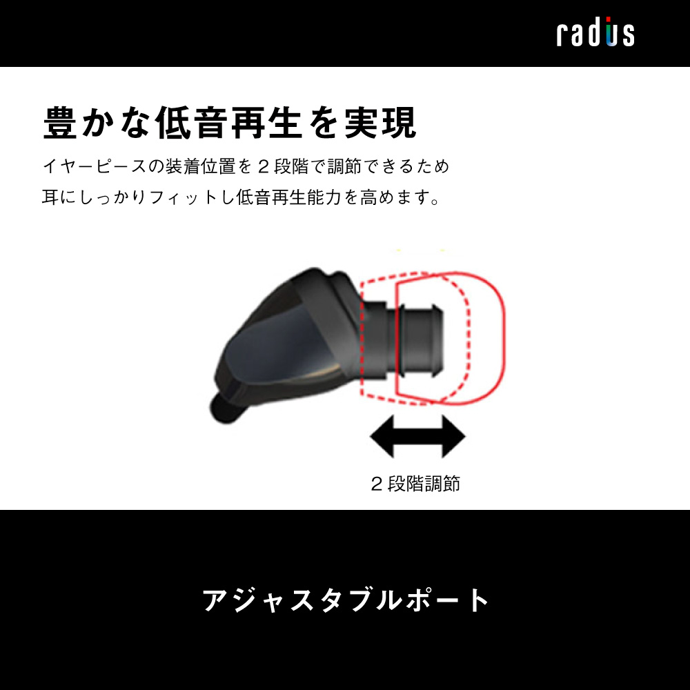 HP-N300L iPhone専用 ライトニング直結イヤホン「ULTIMATE Solid」