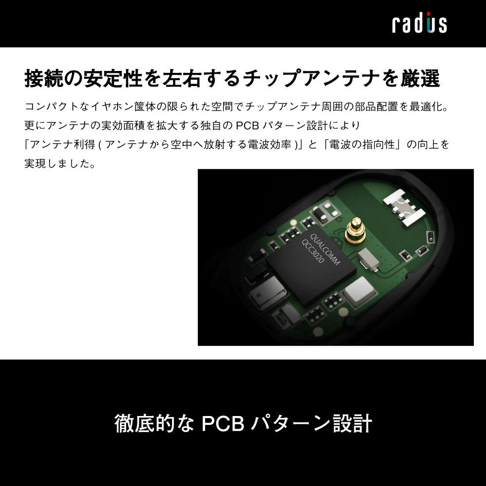 HP-NX500BT  完全ワイヤレスイヤホン