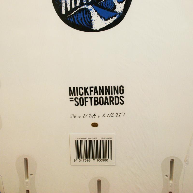 """ミックファニング・ソフトボード LITTLE MARLEY 5'6"""" BLUE"""