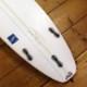 """5'9""""ジャスティスサーフボード[ネバダ・NEVADA] パフォーマンスモデル  中古ボード"""