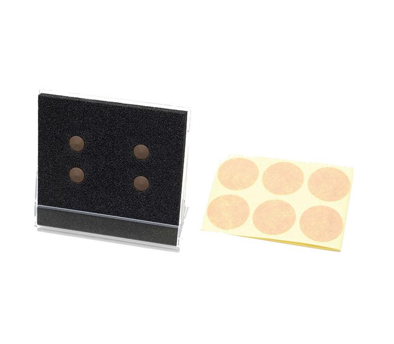 ラドンバン(ラジウム鉱石4個入り)張替シール50枚付き