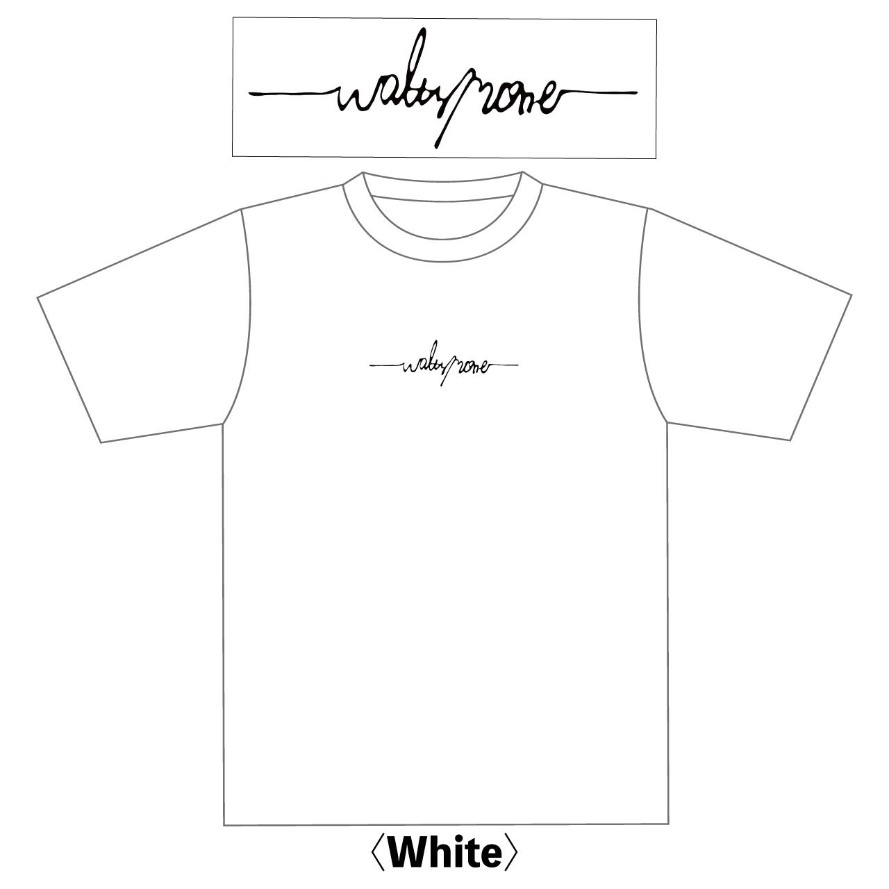 WALTZMORE 刺繍logo T-shirt