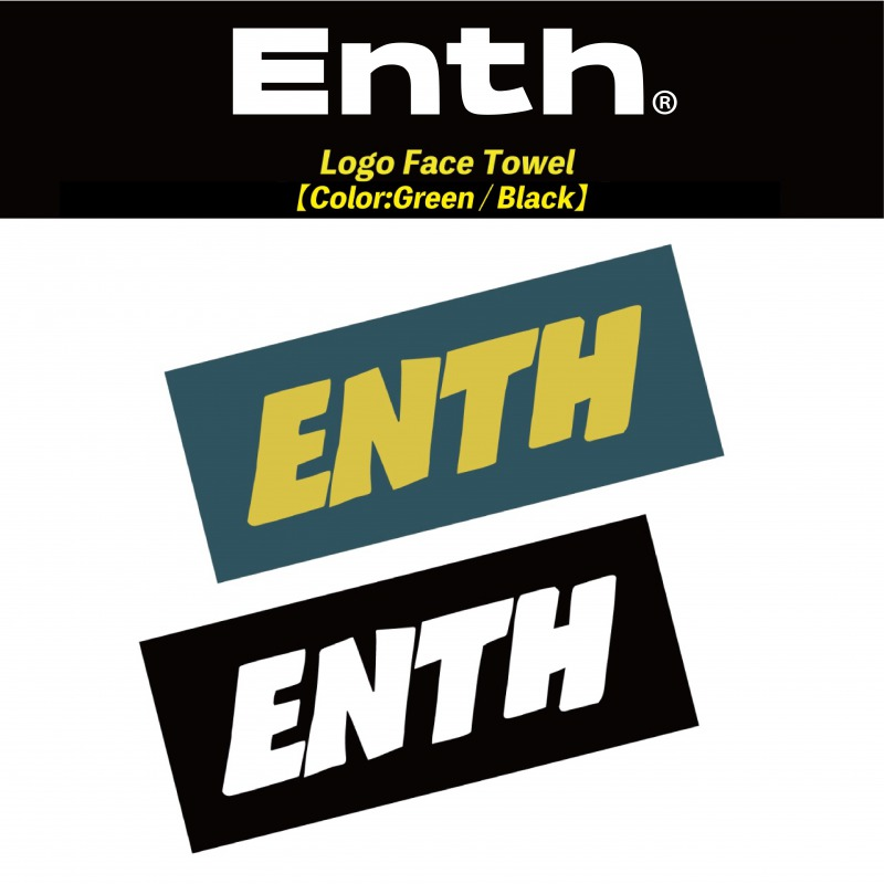 ENTH Logo Face Towel