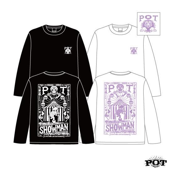POT SHOWMAN L/S T-shirts