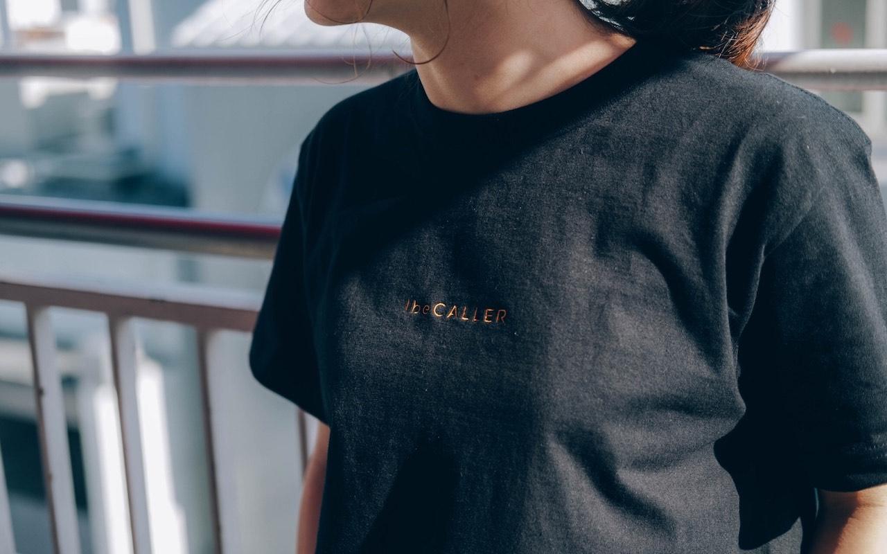 アイビーカラー 刺繍Logo T-shirts