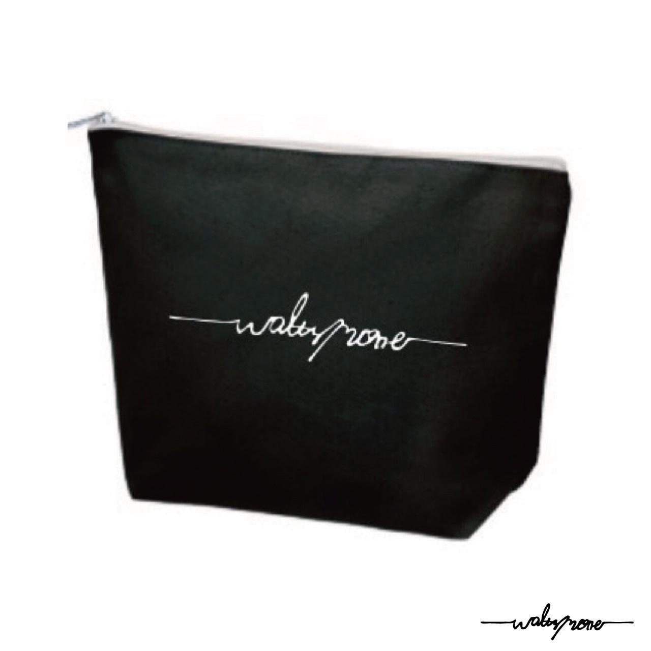 WALTZMORE logo pouch