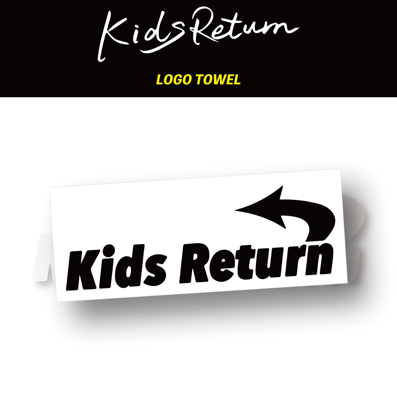 Kids Return LOGO TOWEL