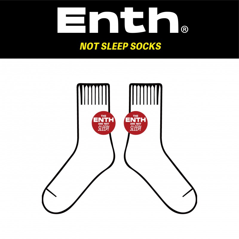 ENTH NOT SLEEP SOCKS