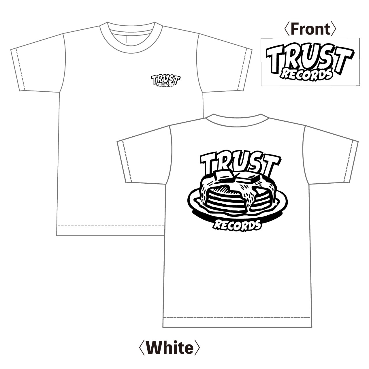 TRUST RECORDS FAT CAKE T-Shirts