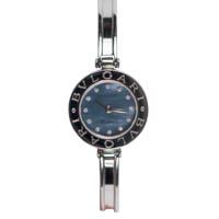 【BVLGARI】ブルガリ B-ZERO1  BZ22S ビーゼロワン 12Pダイヤ ステンレス 美品 中古 クオーツ 腕時計