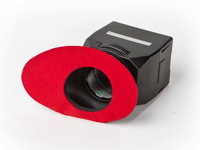 ECR Red color soft eyecup cover