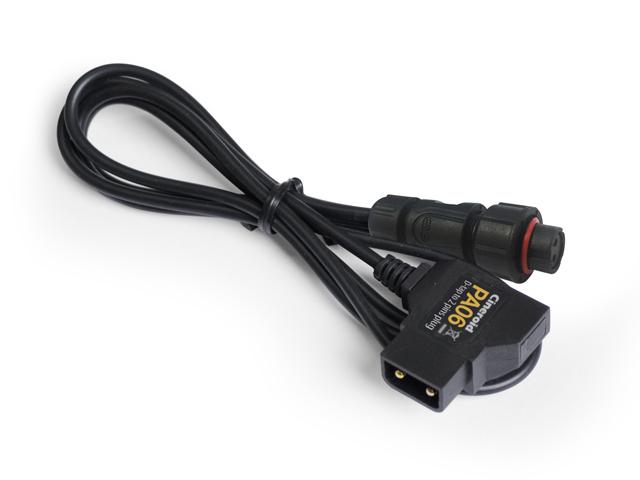 PA06 2 pin w. D-tap for FL400/800 metal