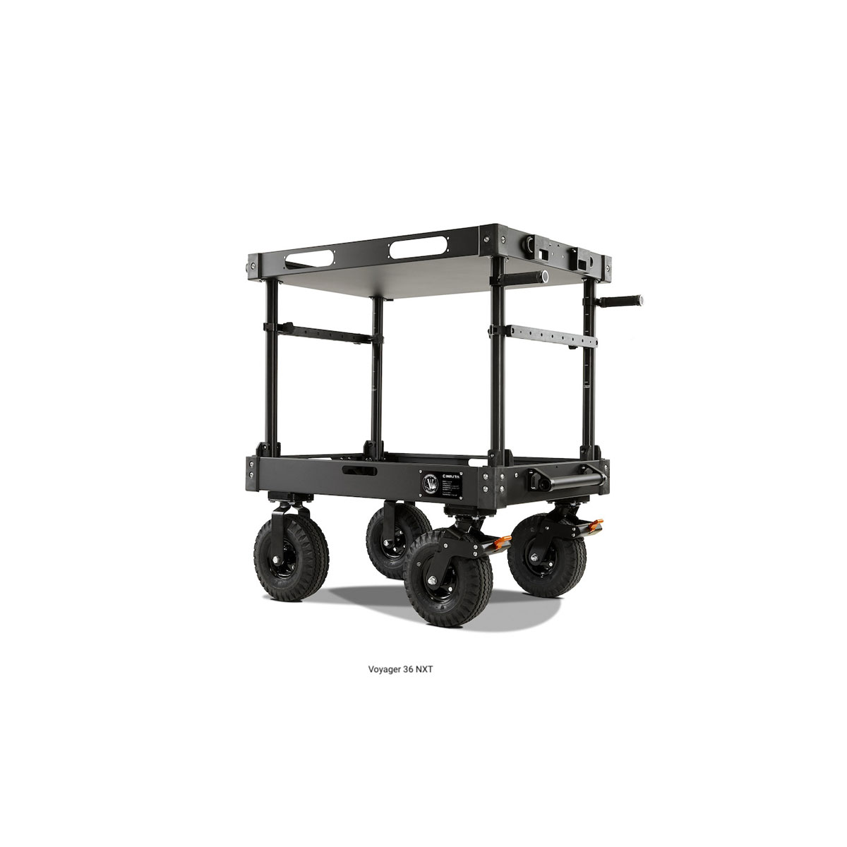 """VOYAGER NXT CARTS - Voyager 42 NXT ( Standard NXT 10"""" Steel Wheel System / FIXED - Top Shelf Height )"""