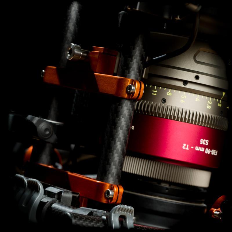 Gimbal Rod Mount - 80mm