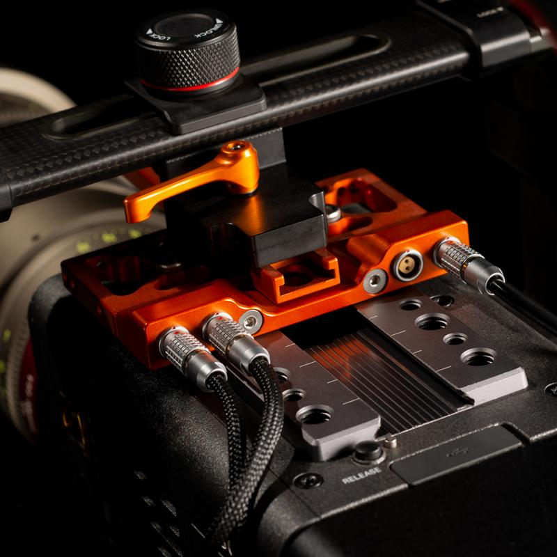 Power Breakout for Camera Top Plates