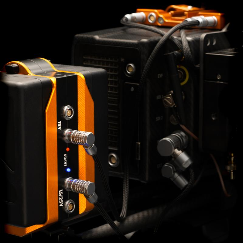 TB50 Hammerhead - Dual Smart Battery Adapter - LW15mm