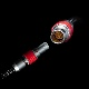 "Ignite Digi Power Cable: Lemo 2 pin to Tilta Nucleus-M 7 pin - 15"""