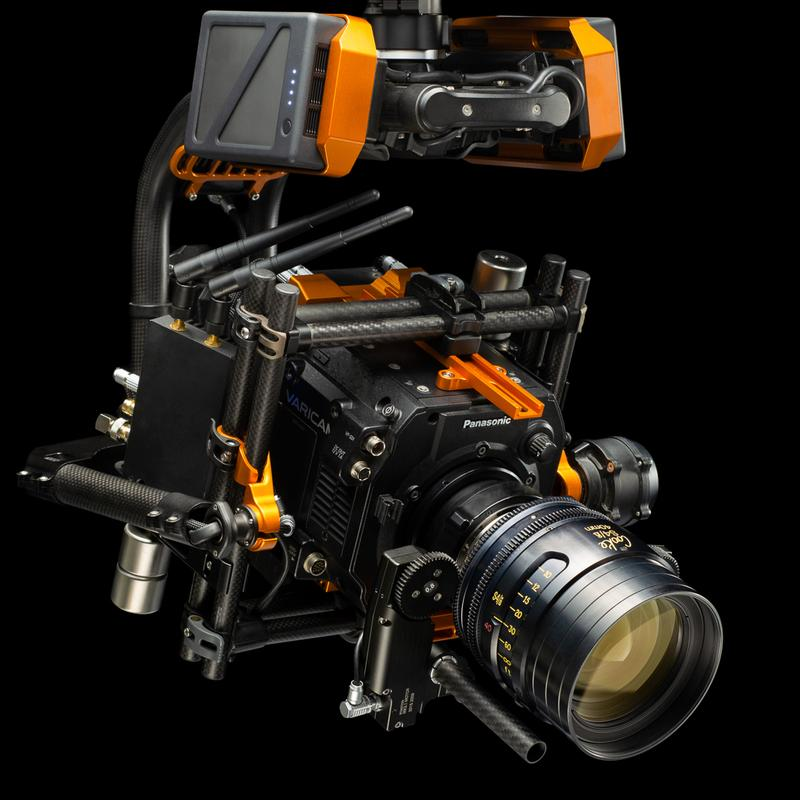 Camera Top Plate: Panasonic Varicam LT