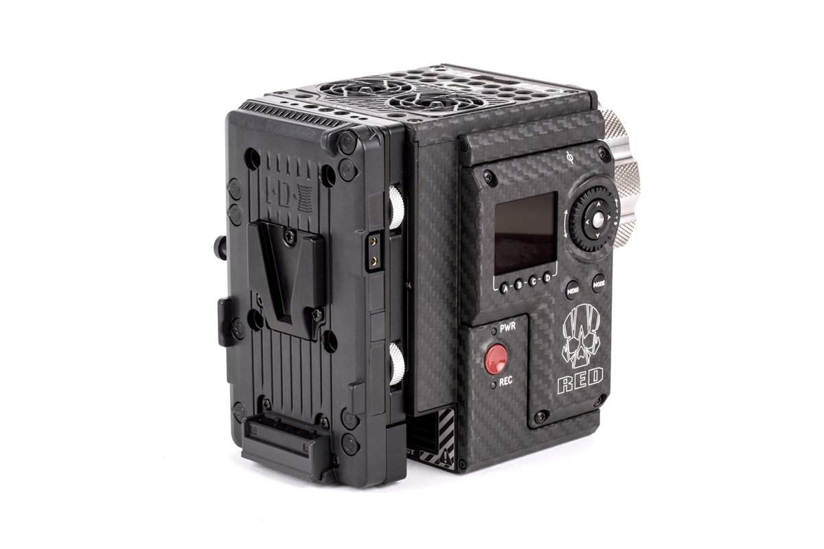 Wooden Camera - Cable-less V-Mount (RED DSMC2)  SKU:220600