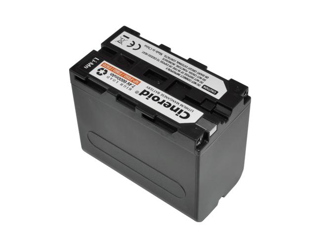 NP-F950 type Li-Mn 6600mA