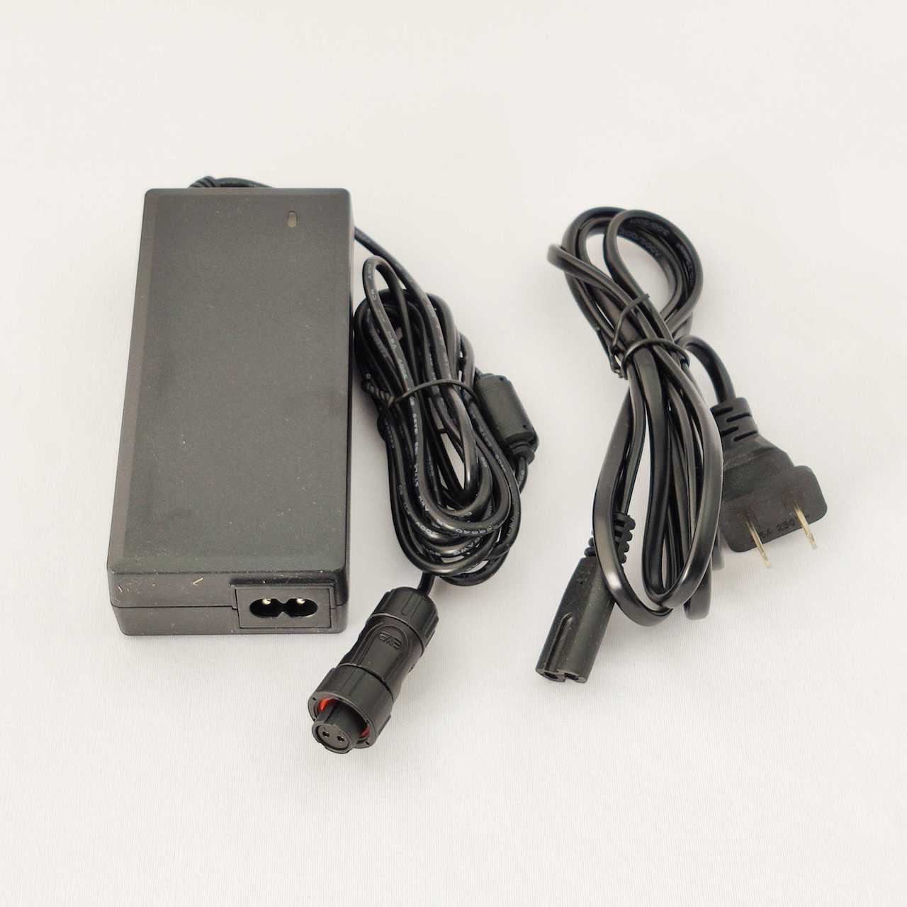 AC400M 12V 6A adapter with 2 pin plug