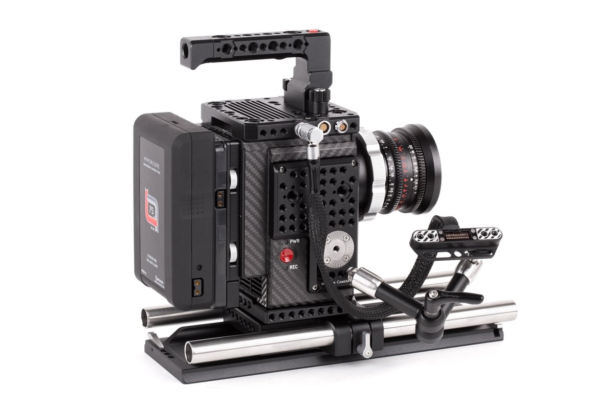 """Wooden Camera - RED Male LEMO Compatible to Female Pogo LCD/EVF Cable (12"""", RED DSMC2) SKU:221400"""